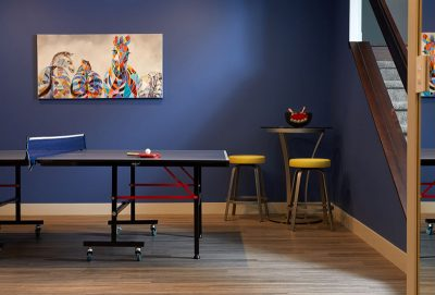 3 Sisters games room example