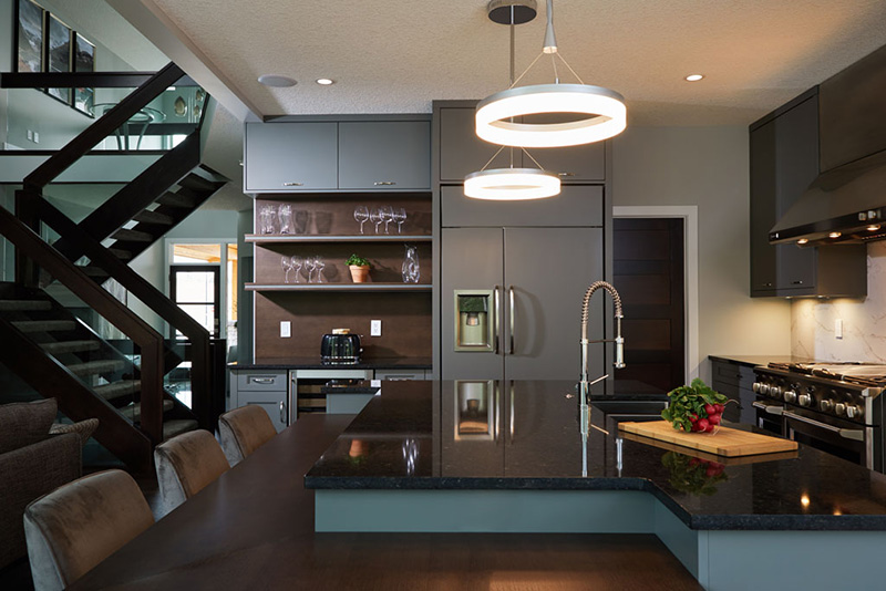 Distinctive Homes luxury kitchen example