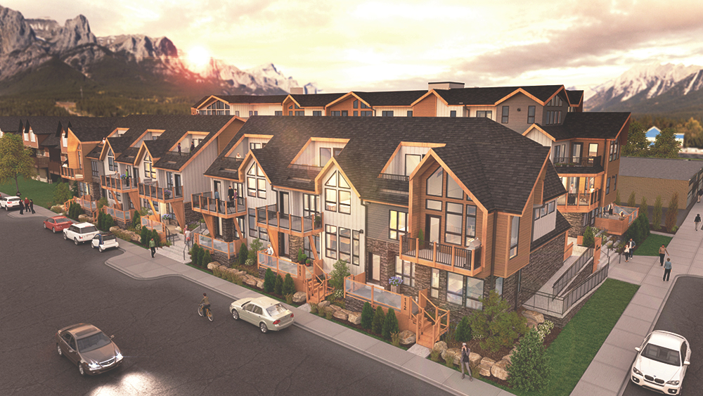 Canmore townhouses for sale by Distinctive Homes 7th & 7th