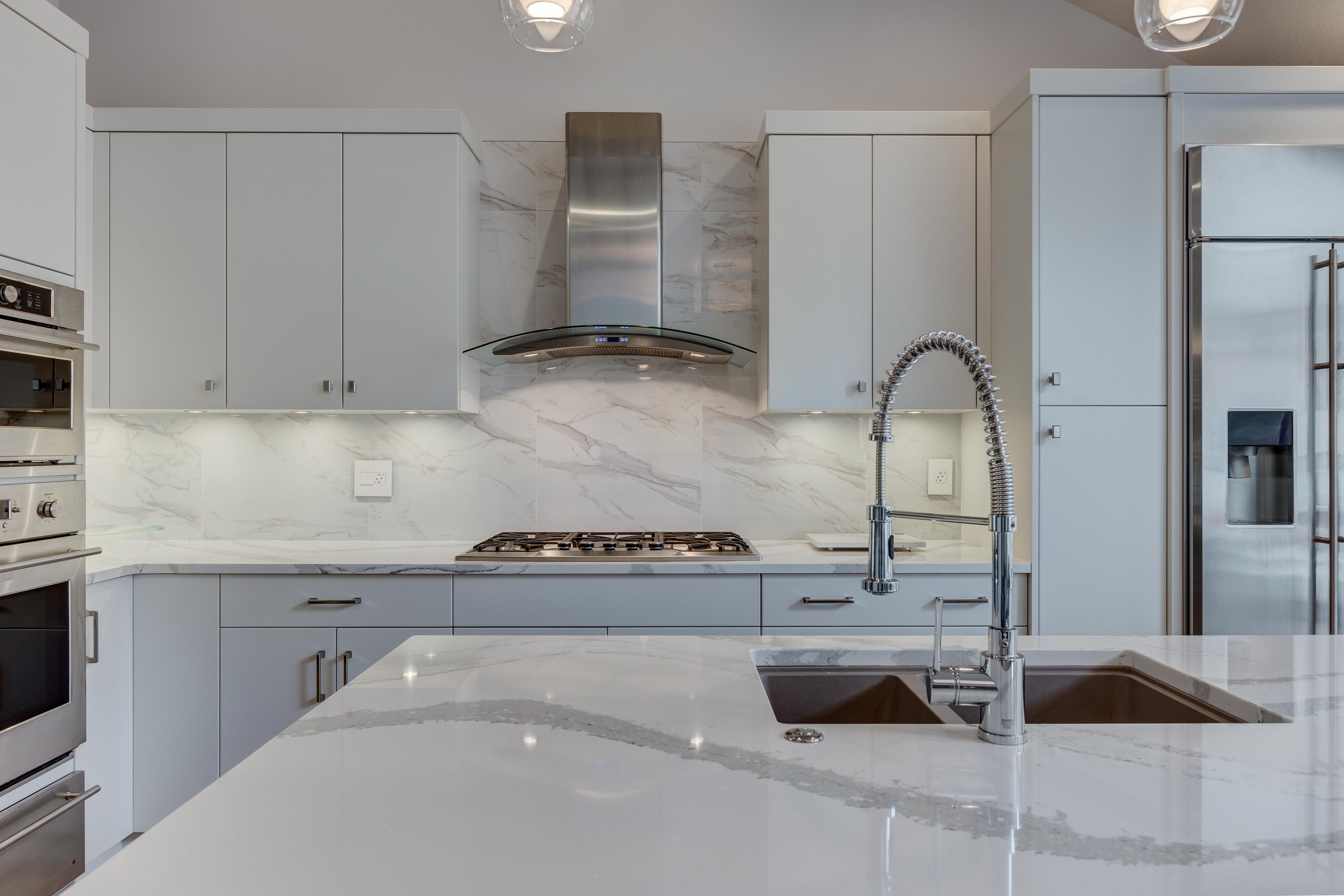 Distinctive Homes Show Home Kitchen