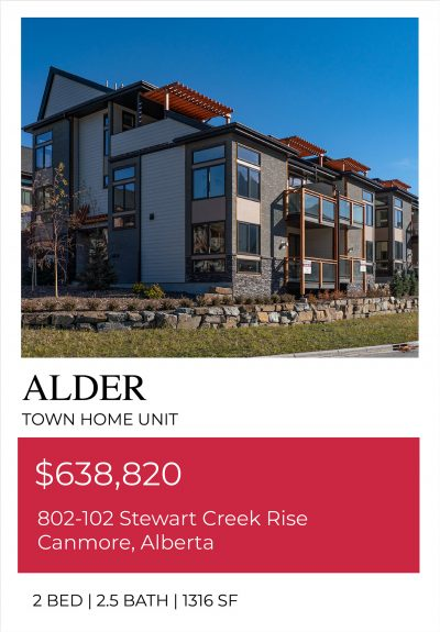 Exterior view of our Alder Move In Ready unit