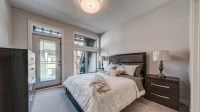 An example of our luxurious bedroom available in our Pine and Alder custom homes.
