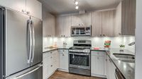 A view of our kitchen available in our Alder and Pine units.