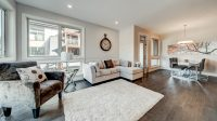 Custom example of our luxurious living spaces in the Alder and Pine homes.