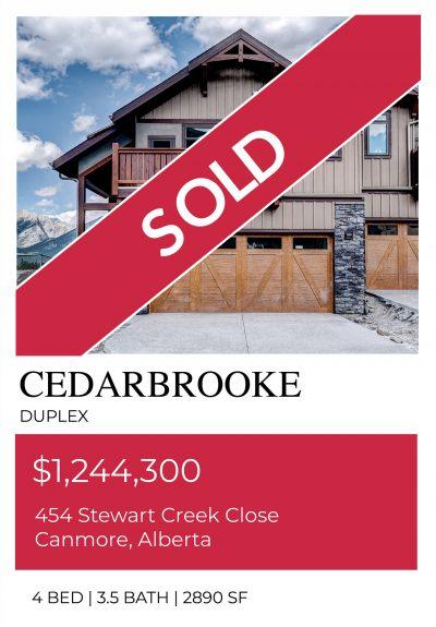 Cedarbrooke Sold