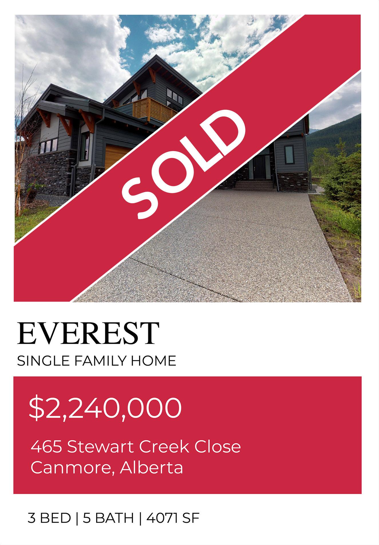 Everest Sold Slide