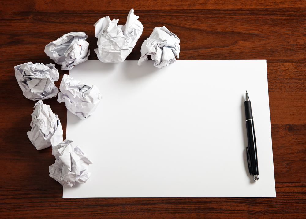 Writing Ideas Down