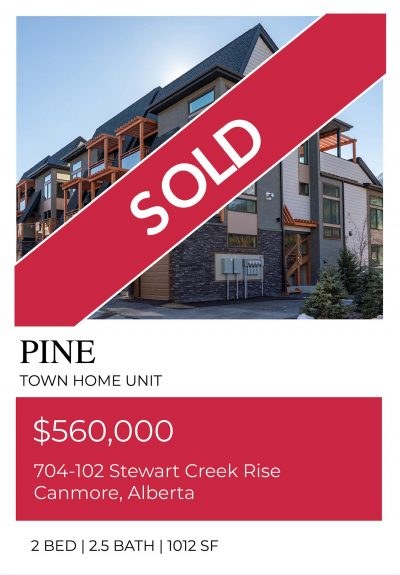 Pine, sold out unit