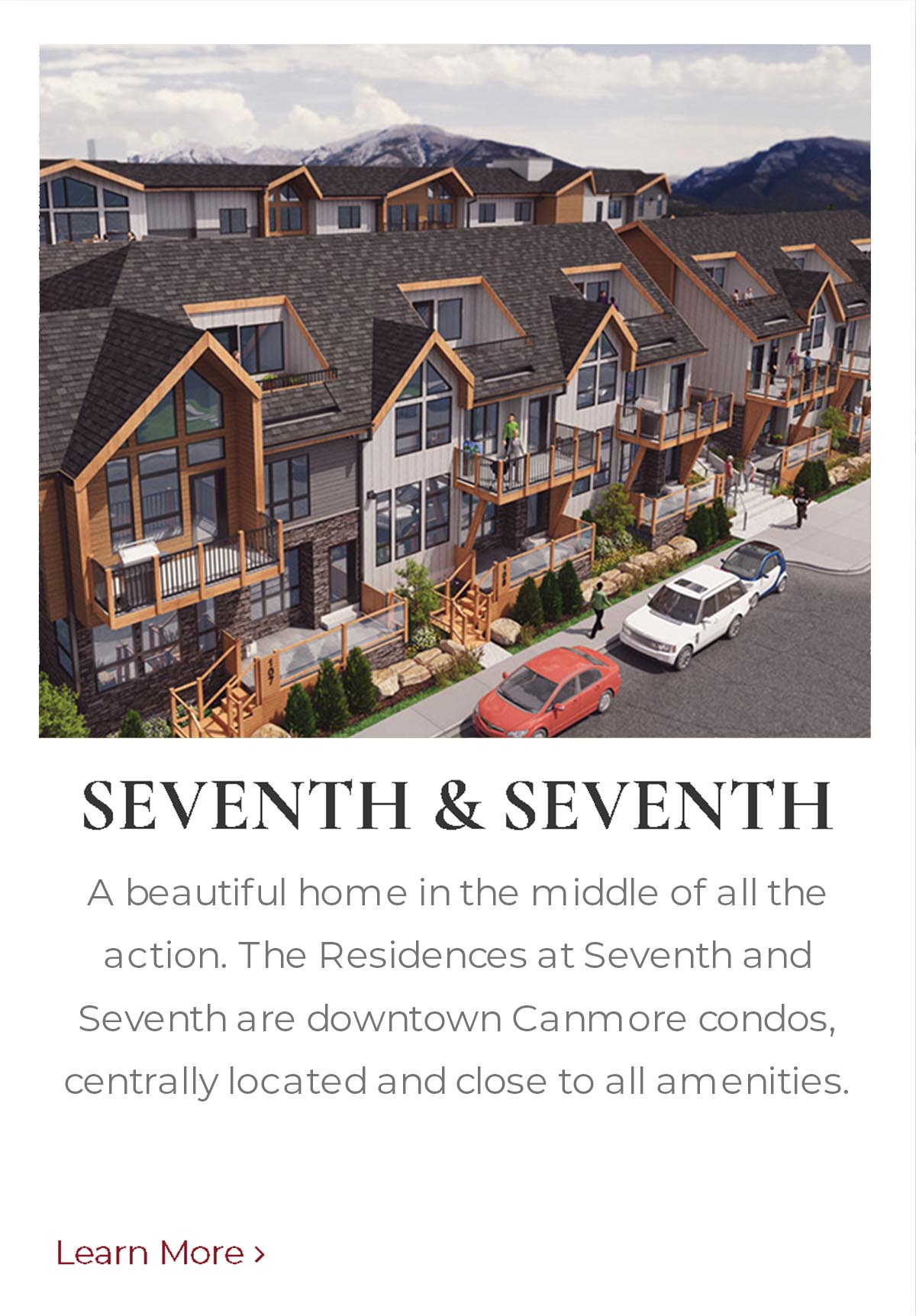 Seventh and Seventh, homes built by Distinctive Homes