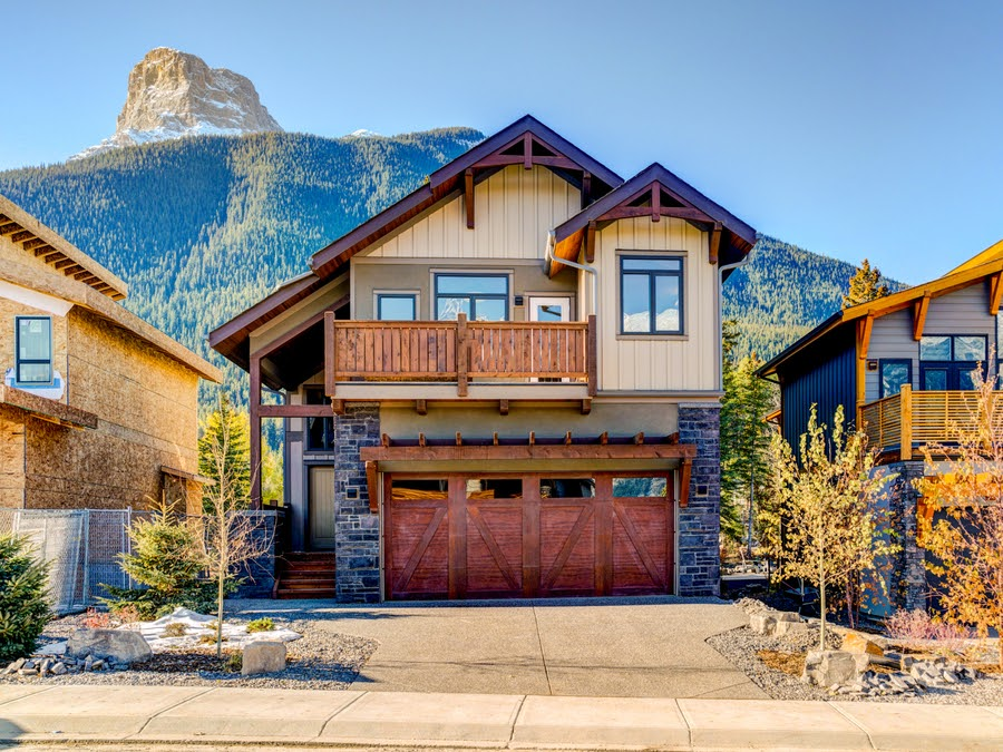 Distinctive Homes Newcastle single family home for sale Canmore Alberta