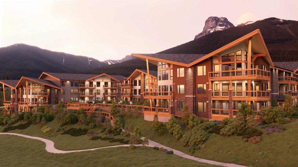 Three Sisters Mountain Village, Canmore Alberta Lookout Ridge Distinctive Homes