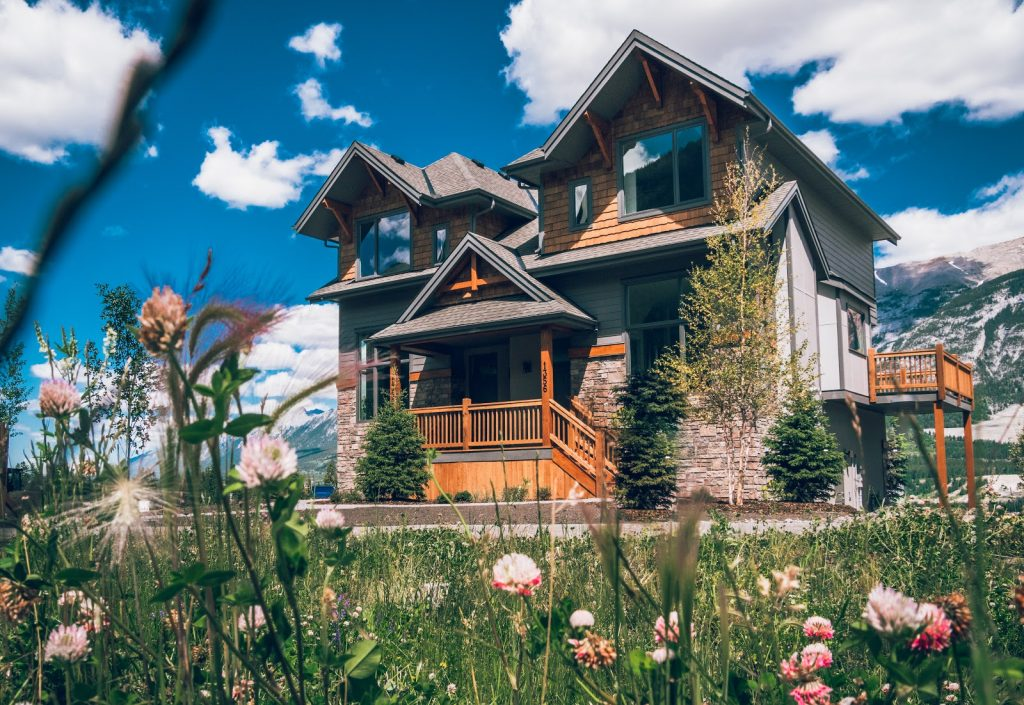 Family duplex for sale Canmore Alberta Three Sisters Mountain Village Distinctive Homes