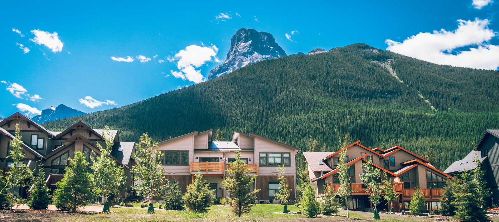 Three Sisters Mountain Village homes for sale Canmore Alberta Distinctive Homes