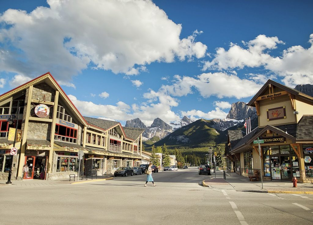 Work Remotely in Three Sisters Mountain Village Canmore Alberta