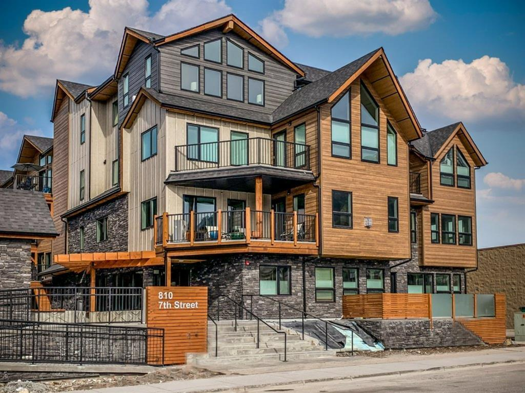 7th and 7th Canmore Residential Development Condos