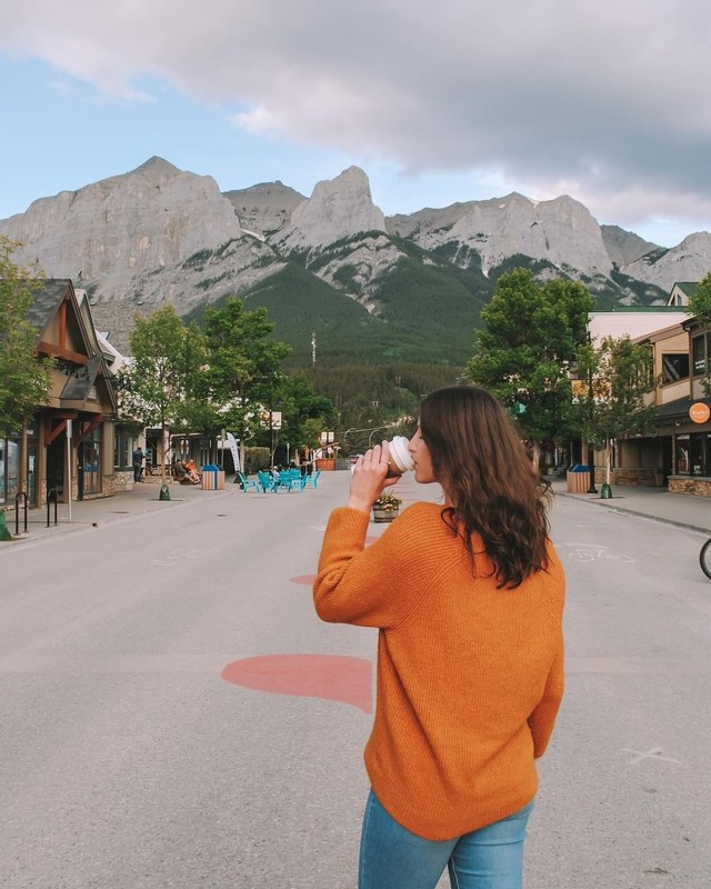 explore downtown canmore living